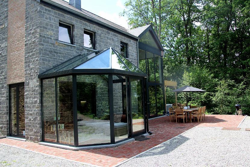Vakantiehuis Villa Onyx voor 8 personen, gelegen te Barvaux in de Belgische Ardennen.