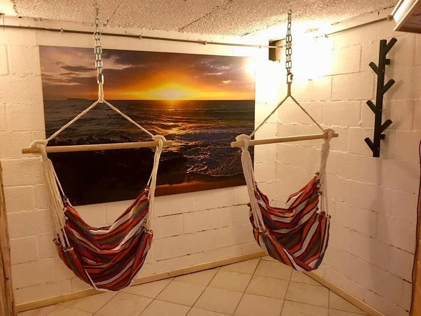 Relax ruimte bij de vakantiewoning Refuge en Verre